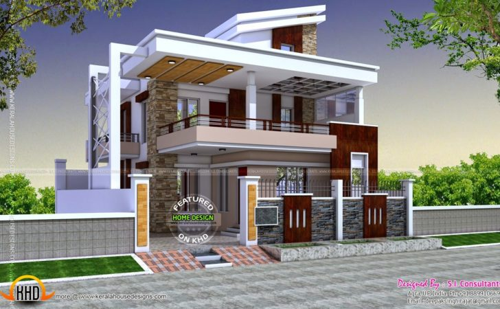 Cute Indian House Exterior Design Photos Interior