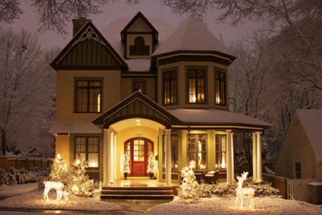 Decorating Christmas Porch Ideas Town Country