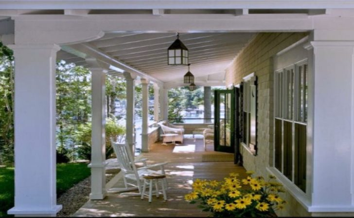 Decorating Your Patio Covered Back Porches Designs