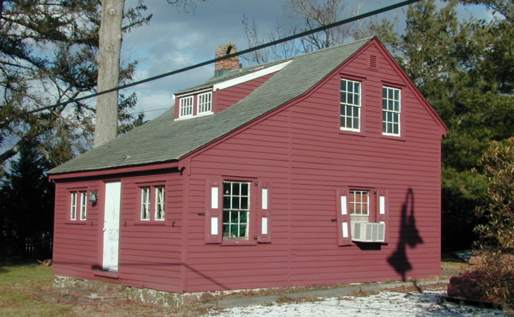 Delightful Salt Box Colonial House Plans