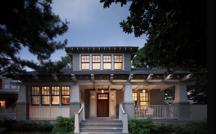 Delorme Designs Craftsman Style Home Wythe Blue