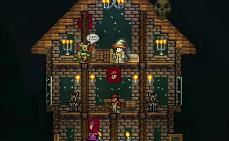 Derpling Tavern House Design Terraria Community Forums