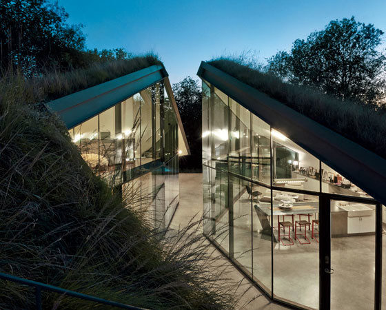 Design Staging Buried Underground Earth Sheltered