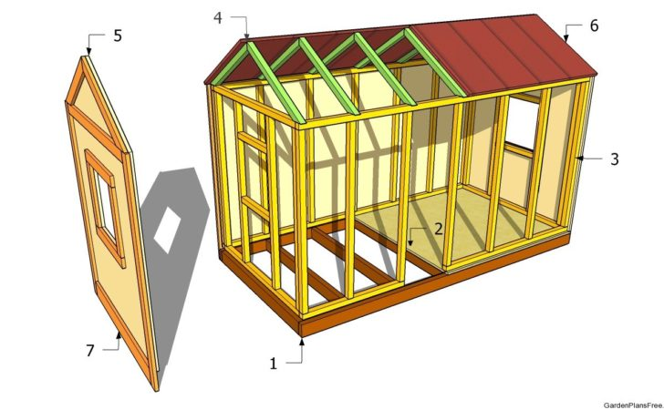 Detail Shed Playhouse Plans Indr