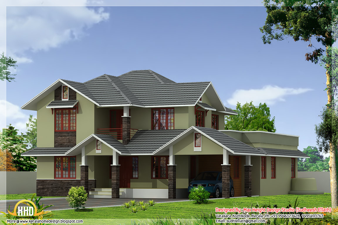 Different Home Elevations Kerala Design