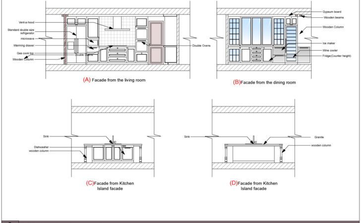 Dining Table Plan Elevation Section Pdf Woodworking