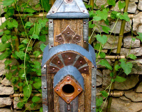 Dishfunctional Designs Birds Unique Garden