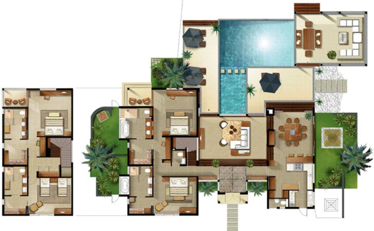 Disney Beach Club Villas Floor Plan Resort Villa