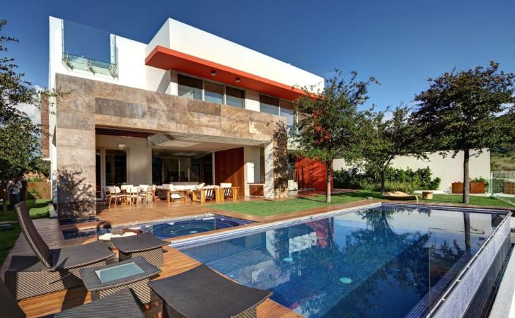 Diverse Luxury Touches Within Complex Open House Design