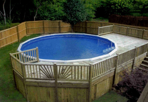 Diy Above Ground Pool Deck Plans Wooden Pdf Murphy