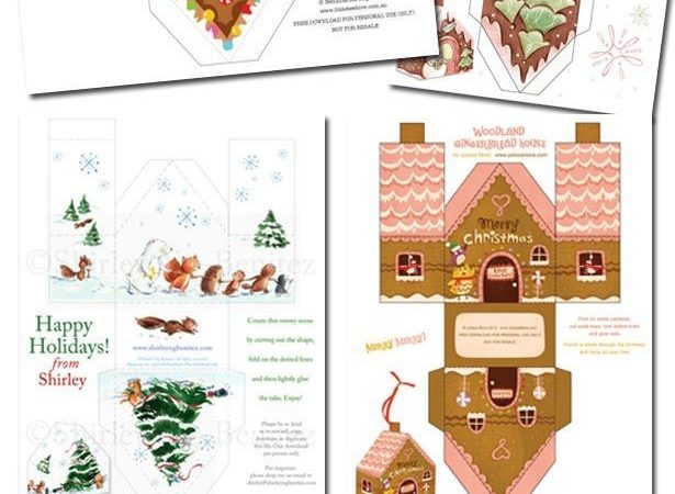 Diy Paper Gingerbread Houses House