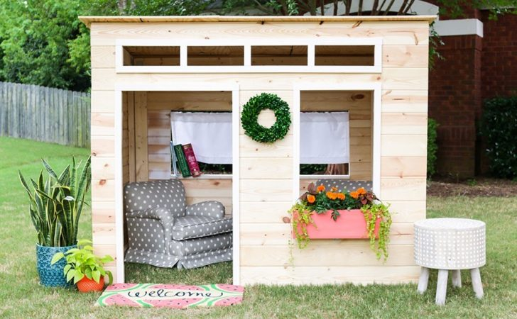 Diy Playhouse Jen Woodhouse Done Right