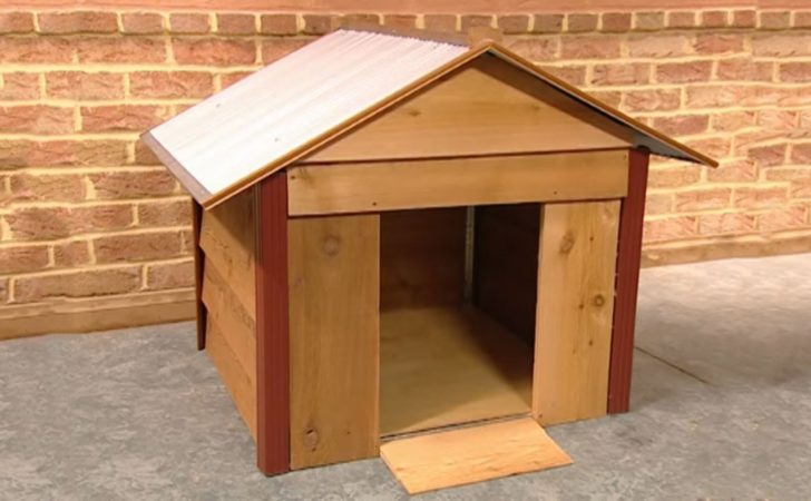 Diy Project Build Basic Doghouse Mind Your