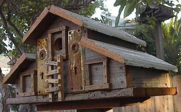 Diy Recycled Birdhouses Can Build Show Care