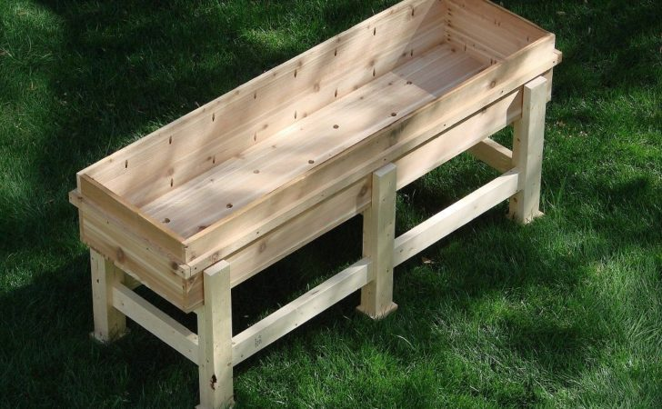Diy Waist High Planter Box All Natural Good