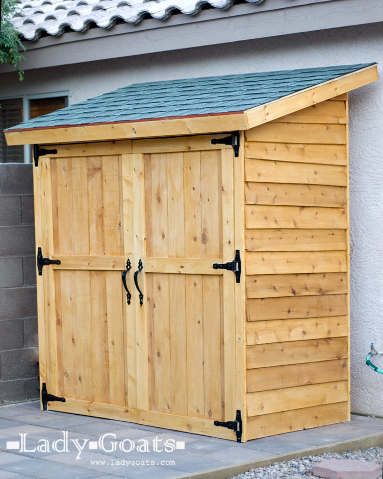 Diy Wood Tool Shed Plans