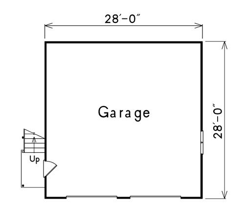 Dockside Car Garage Plans