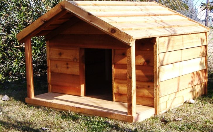 Dog House Plans Porch Breeds