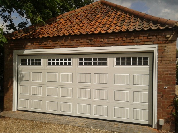 Double Automatic Garage Door Company Grantham