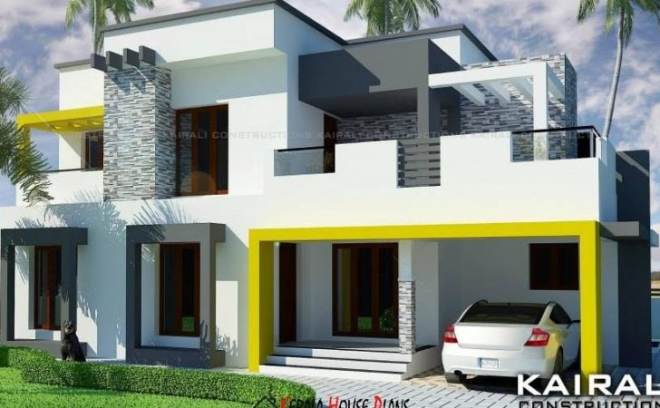 Double Floor Contemporary House Design Bed Rooms