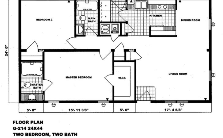 Double Wide Floor Plans Bedroom Best
