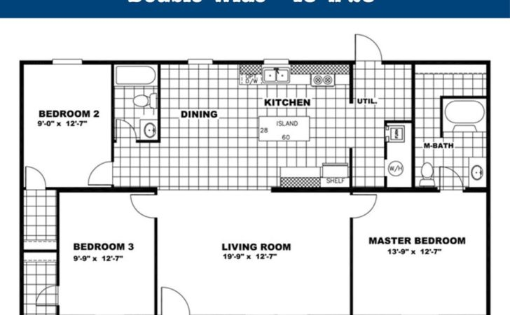 Double Wide Floor Plans Got Homes