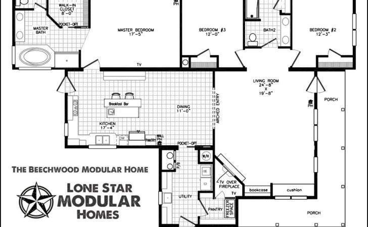 Double Wide Mobile Home Floor Plans Bedroommobilehomefloor