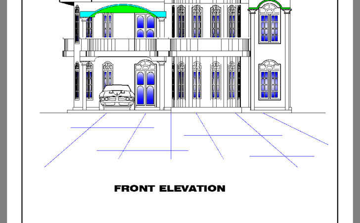 Draw Front Elevation Desing Joy Studio Design