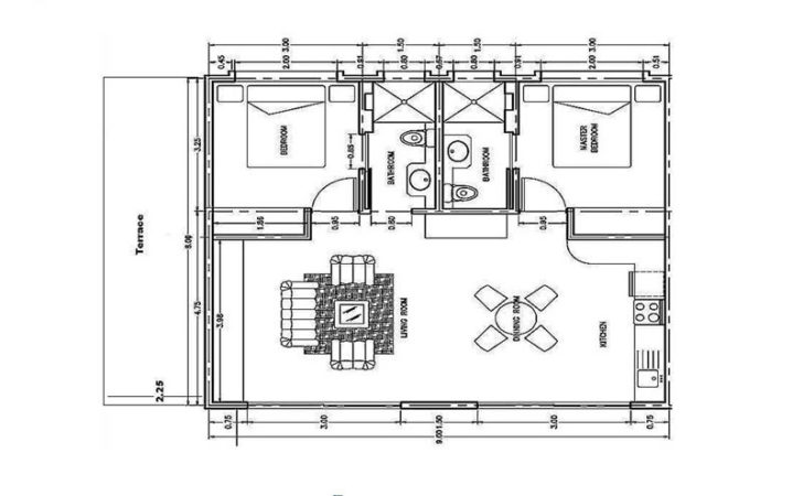 Draw Simple Floor Plans Mapo House Cafeteria