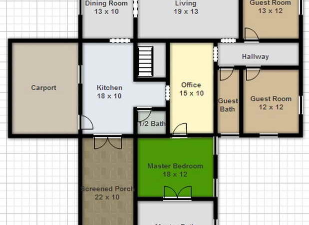Draw Your Own House Plans Drawing