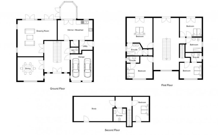 Drawing Floor Plans House