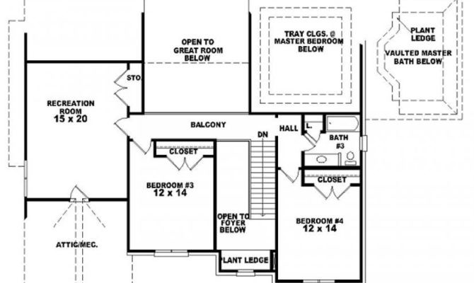 Dream French Style Floor Plans House