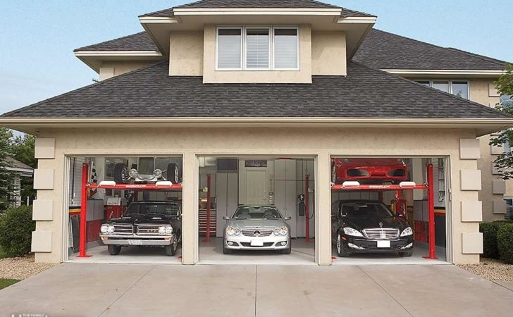 Dream Garage Double Decker Car Storage Handyman