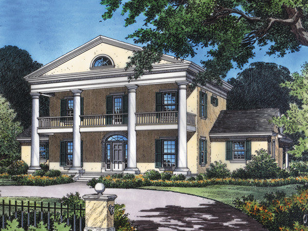 Dunnellon Plantation Home Plan House Plans