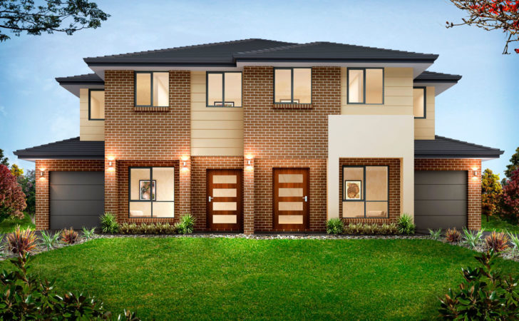 Duplex Homes Design Adelaide House Samples