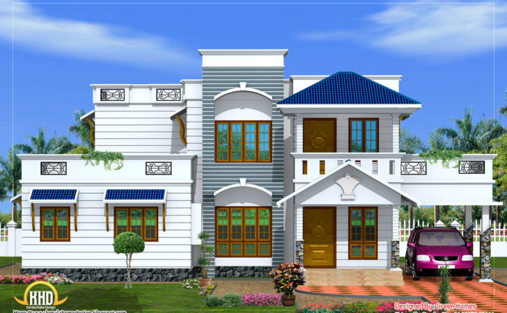 Duplex House Elevation Home Appliance