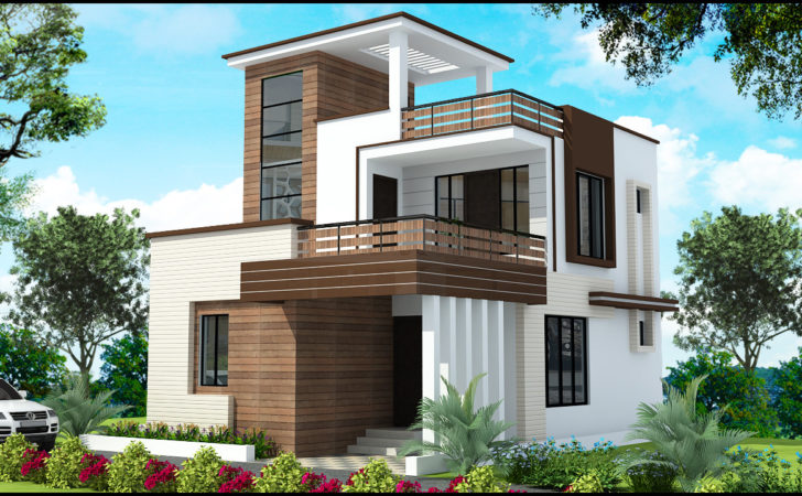 Duplex House Elevation Joy Studio Design