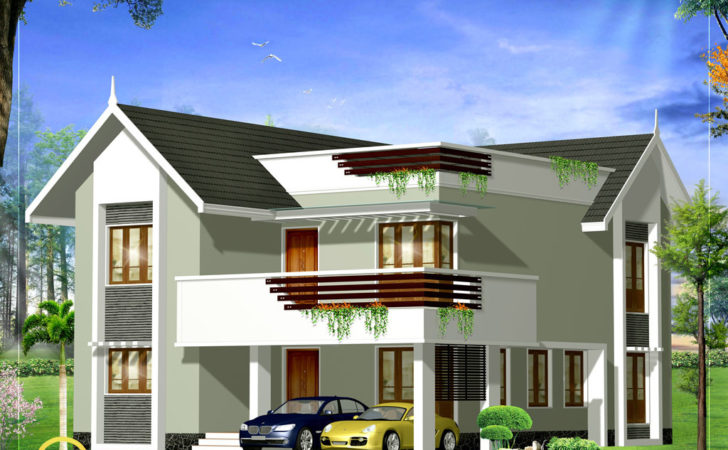Duplex House Elevation Kerala Home Design