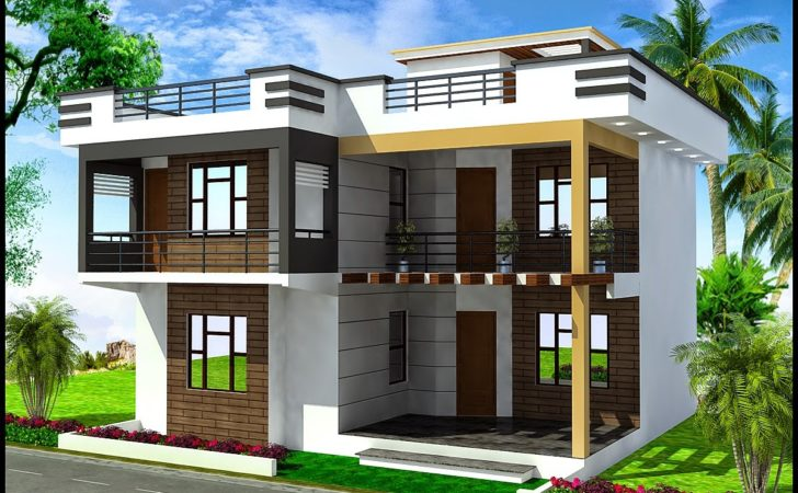 Duplex House Plans Modern Plan