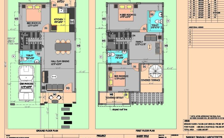 Duplex House Plans North Facing