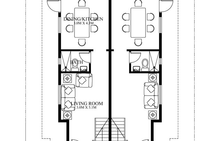 Duplex House Plans Series Php