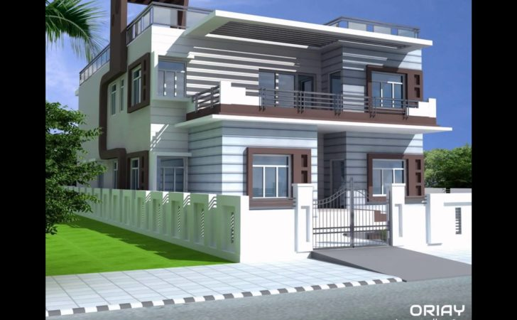 Duplex Residential Home Design Oriay Youtube