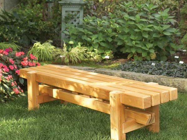 Durable Doable Outdoor Bench Woodworking Plan Wood
