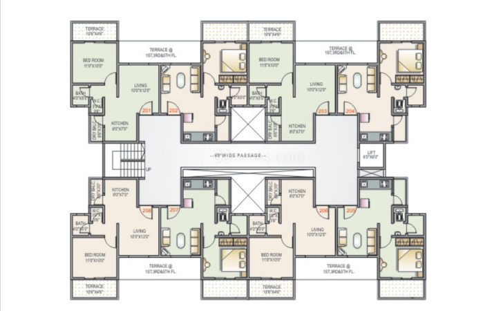Dwisha Developers Apartment Floor Plan
