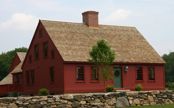 Early New England Cape House Plans