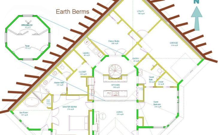 Earth Contact Homes Floor Plans
