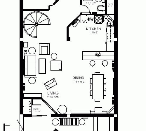 Earth Sheltered Active Home Plan