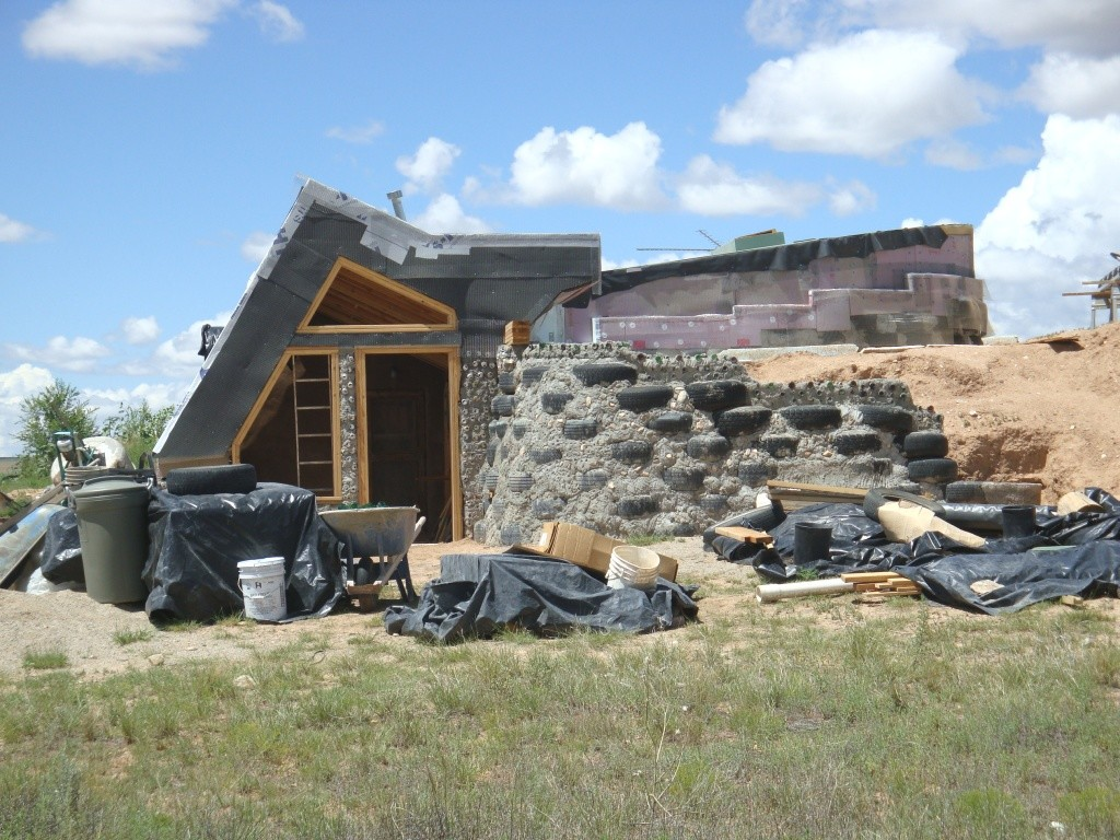 Earthship New Way Live Sustainable Development