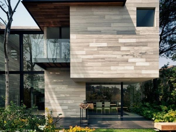 Earthy Elegant House Mexico Wood Water Wow