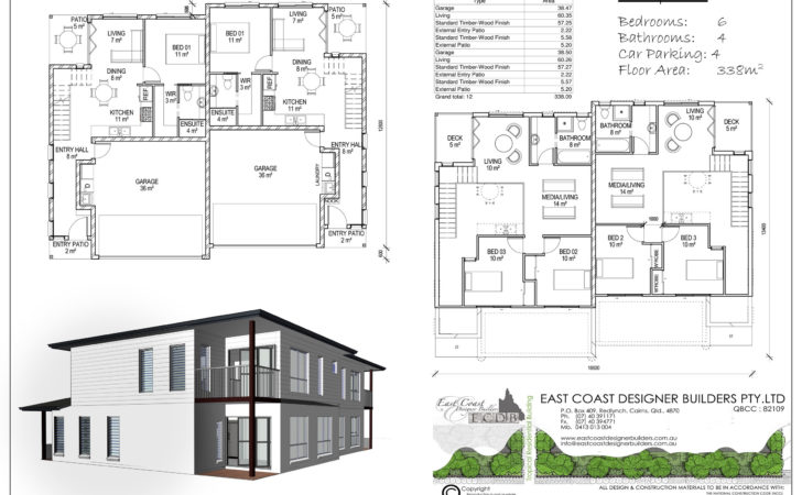 East Coast Designer Builders Cairns Duplex